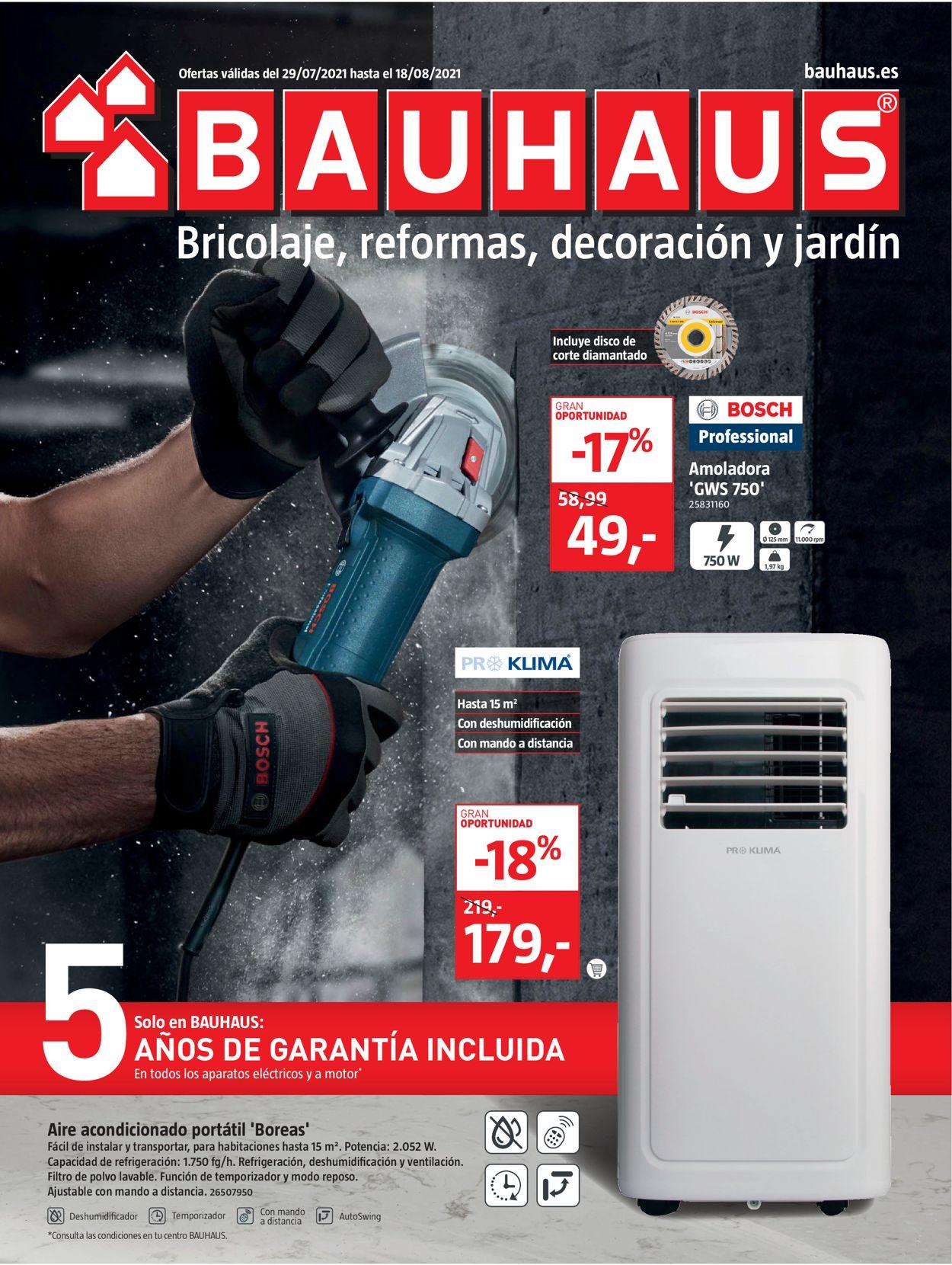 Bauhaus Folleto - 29.07-18.08.2021