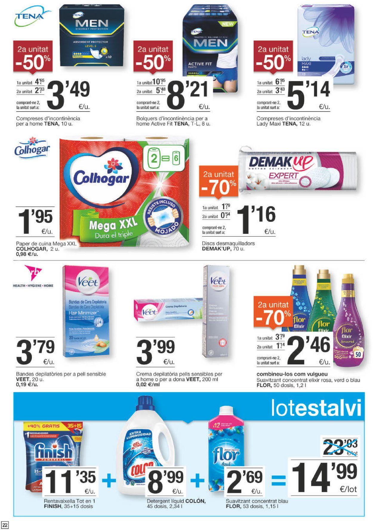 Bonpreu Folleto - 08.09-21.09.2020 (Página 22)