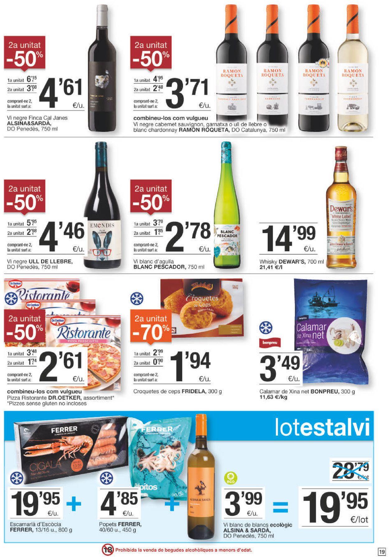 Bonpreu Folleto - 04.05-17.05.2021 (Página 19)
