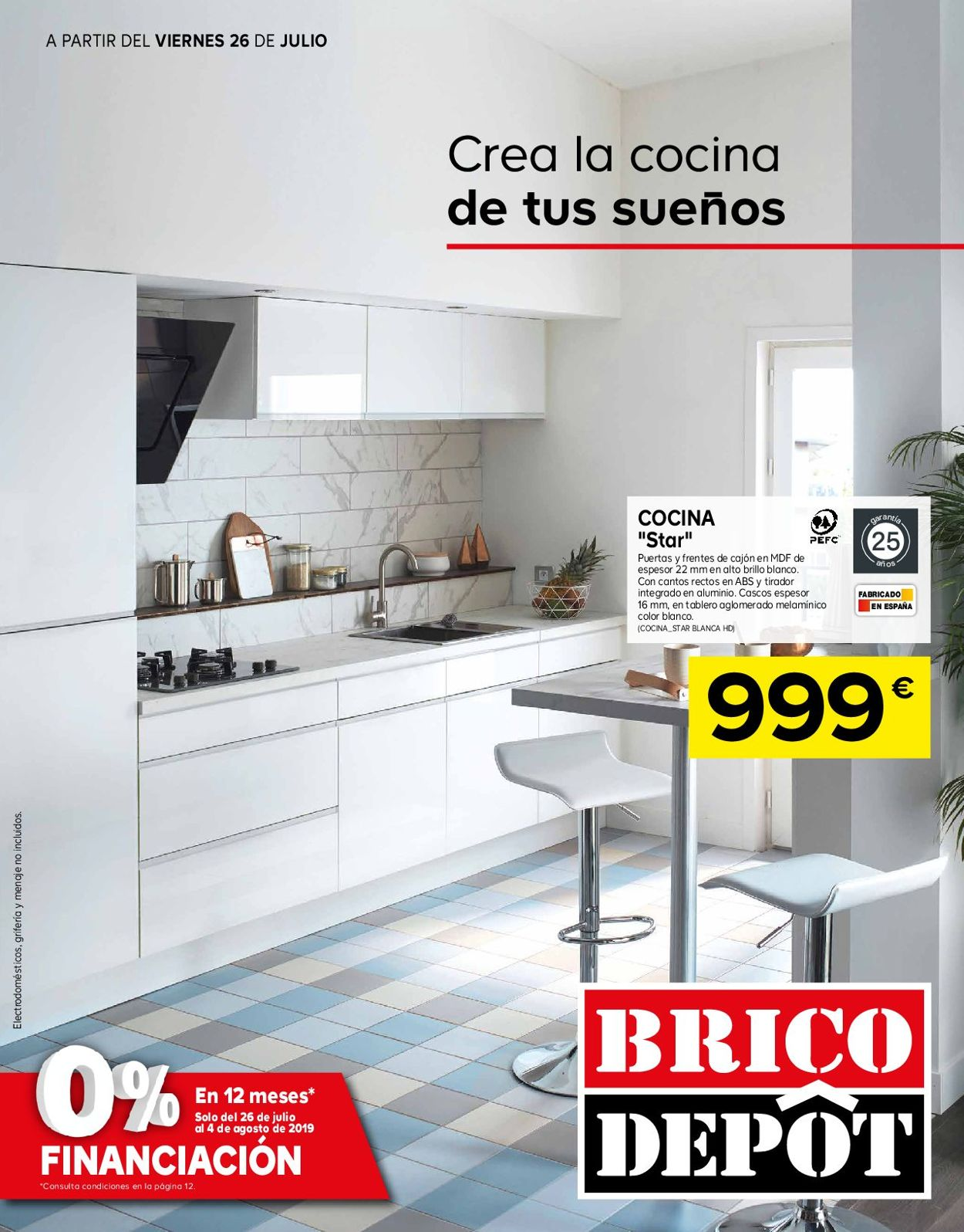 Brico Depôt Folleto - 26.07-04.08.2019