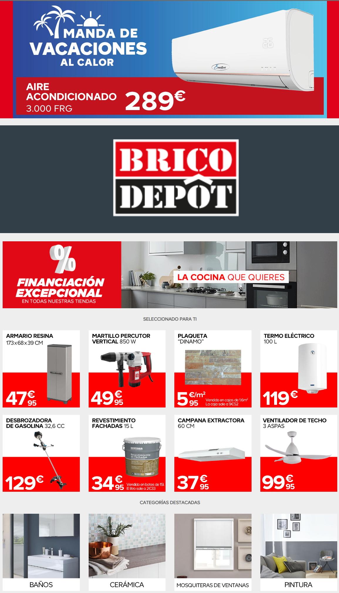 Brico Depôt Folleto - 02.07-16.07.2020