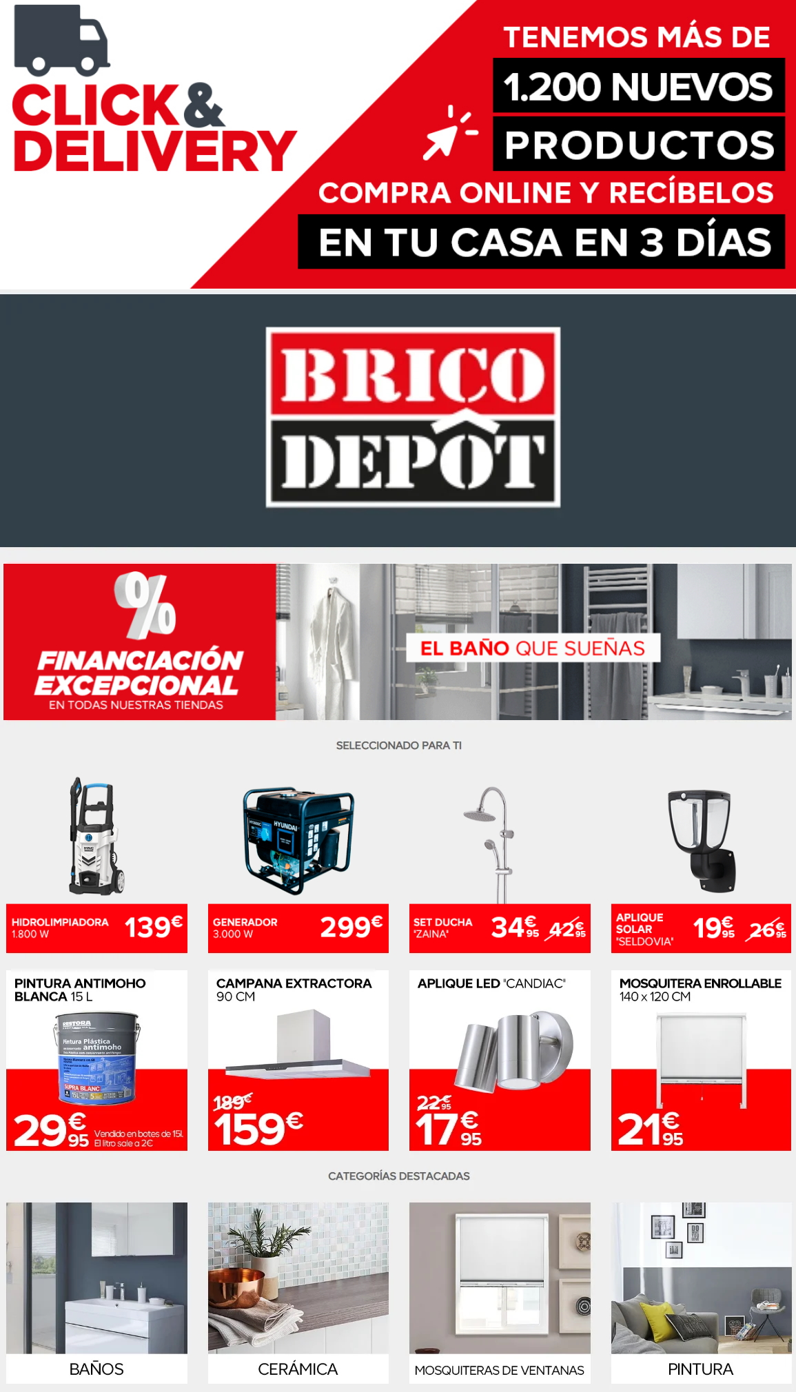 Brico Depôt Folleto - 29.07-04.08.2020