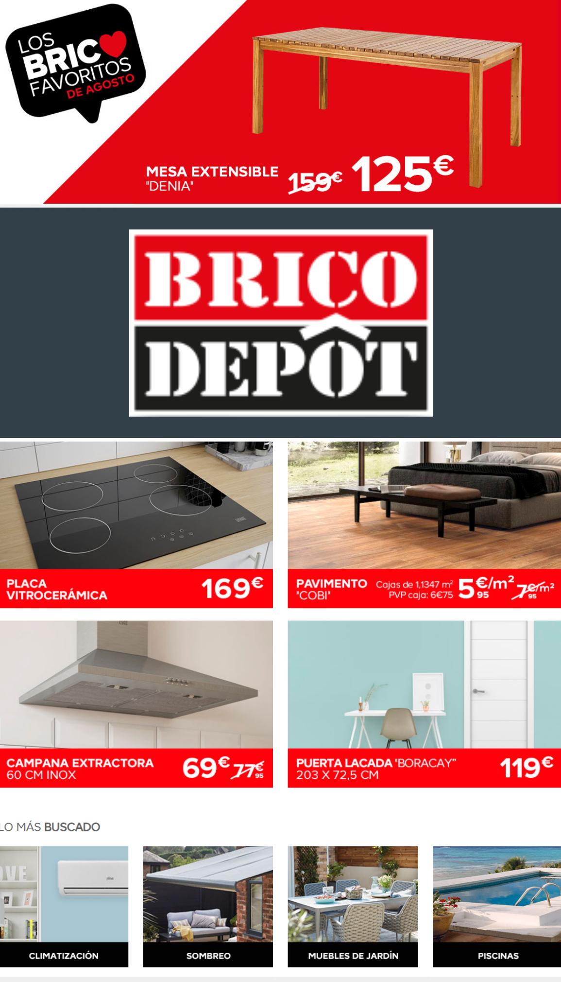 Brico Depôt Folleto - 05.08-11.08.2020