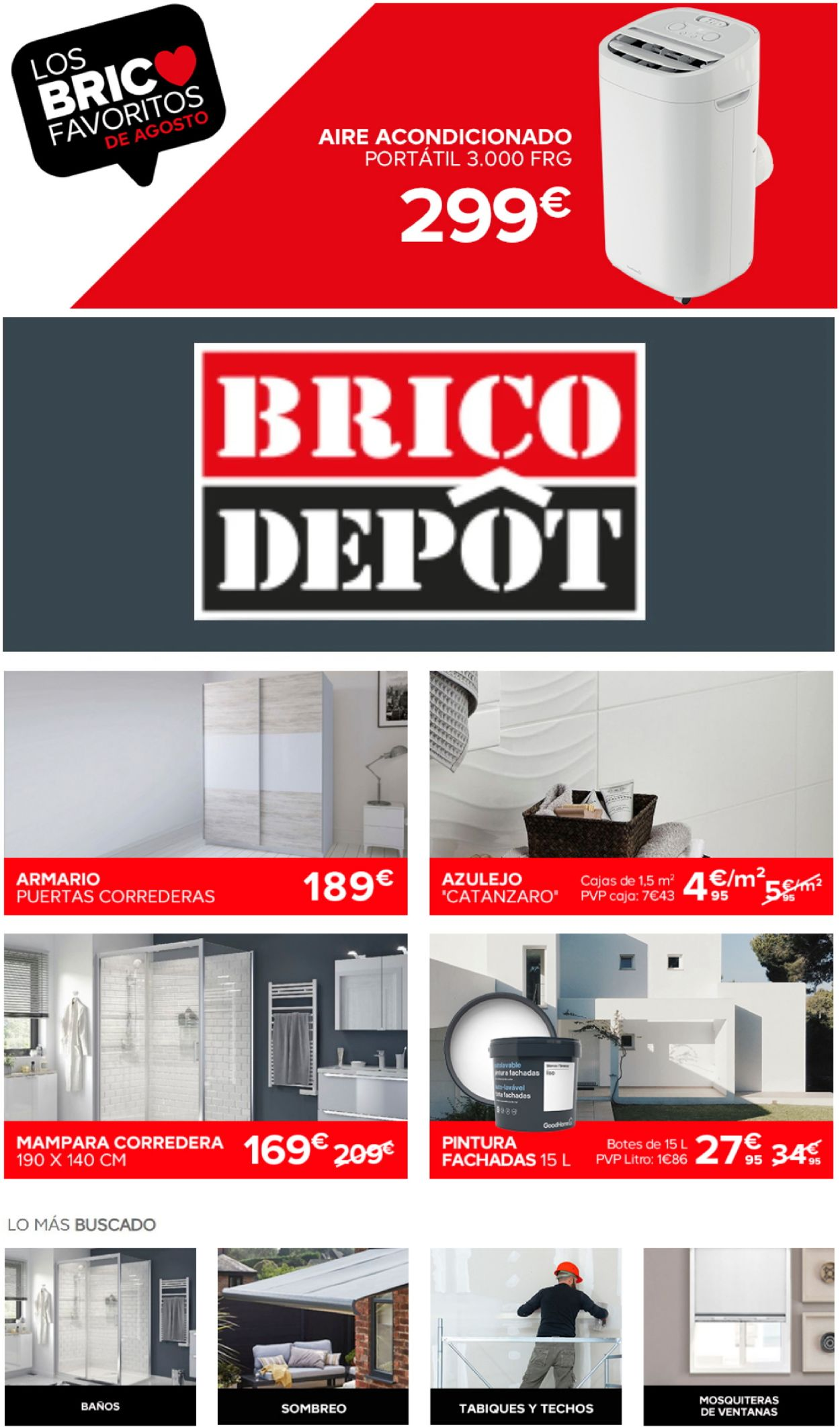 Brico Depôt Folleto - 26.08-08.09.2020