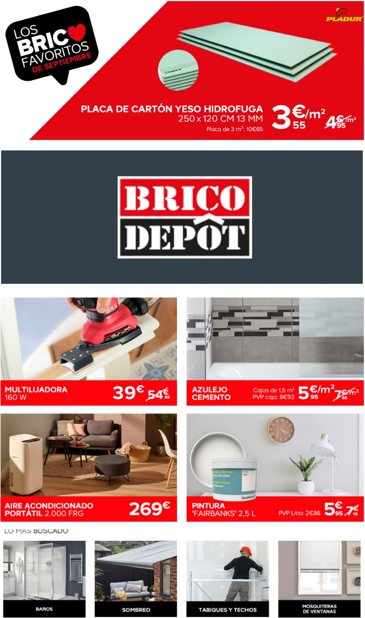 Brico Depôt Folleto - 16.09-22.09.2020