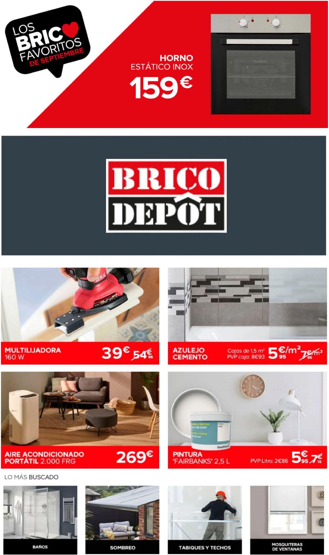 Brico Depôt Folleto - 23.09-29.09.2020