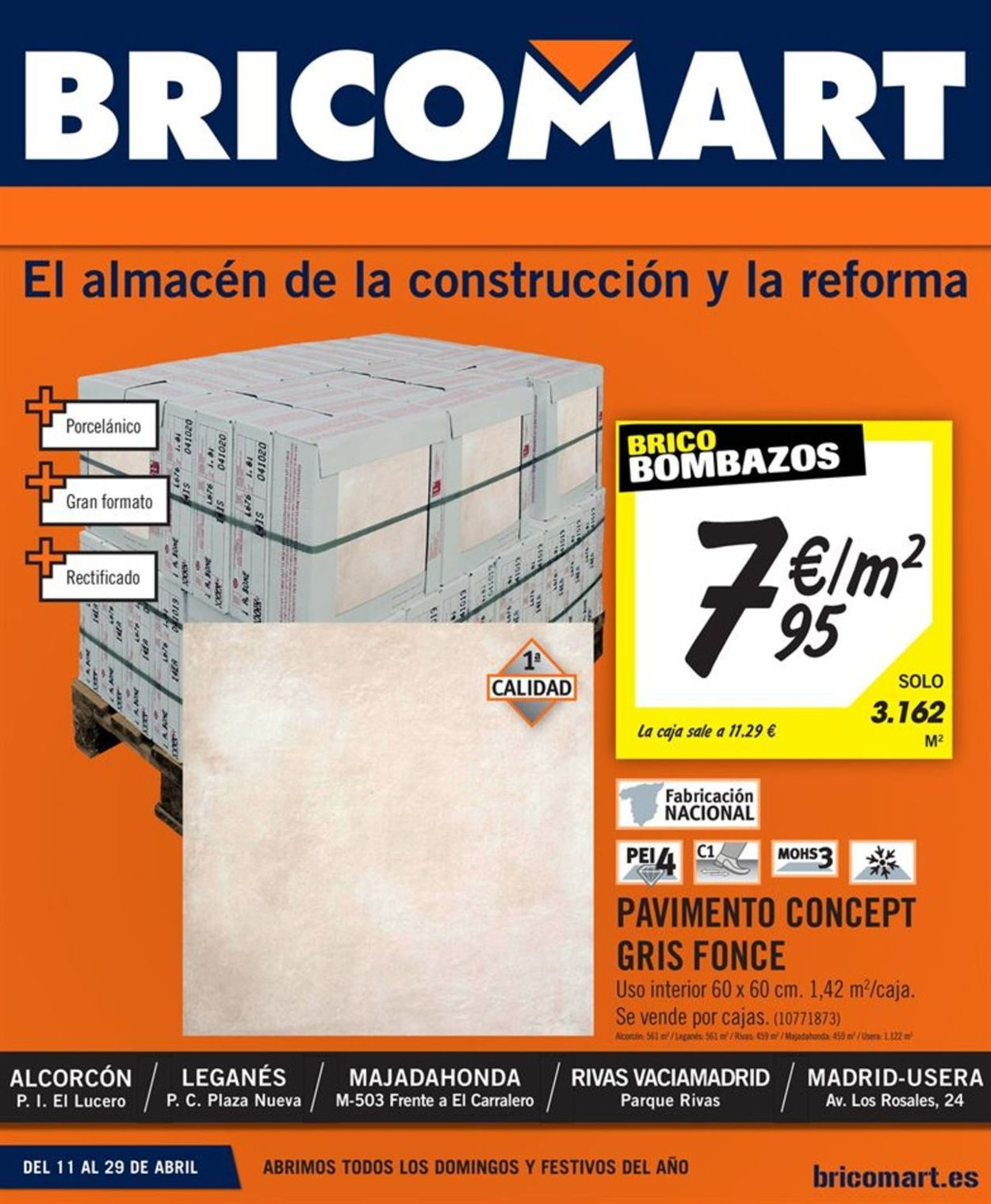 Bricomart Folleto - 11.04-29.04.2019