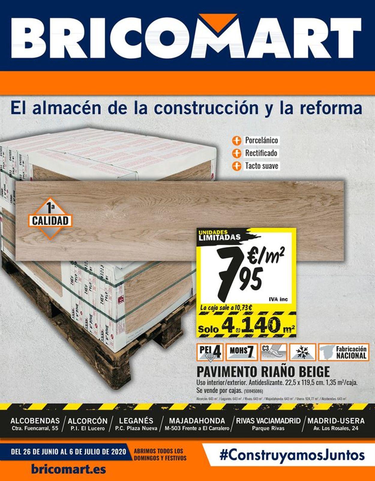 Bricomart Folleto - 26.06-06.07.2020
