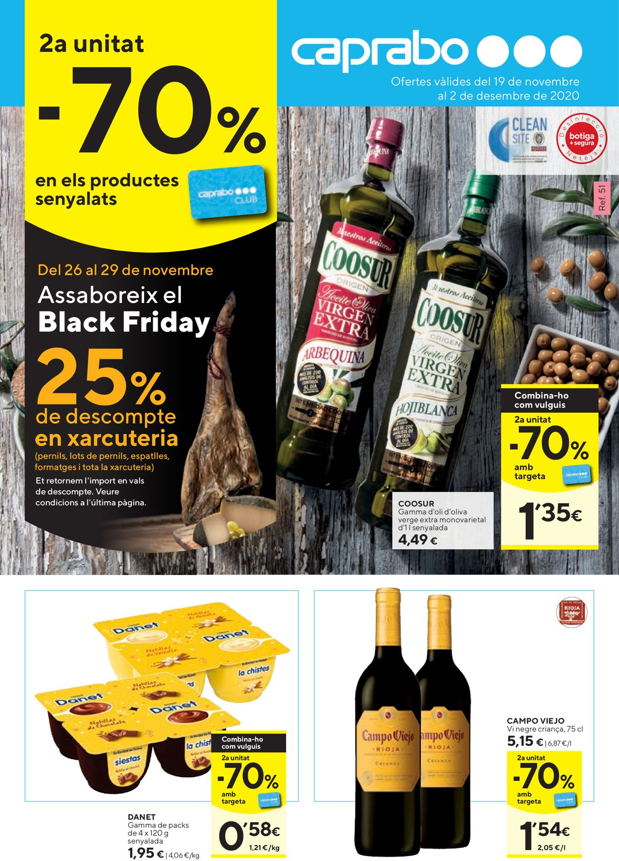 Caprabo - Black Friday 2020 Folleto - 26.11-29.11.2020