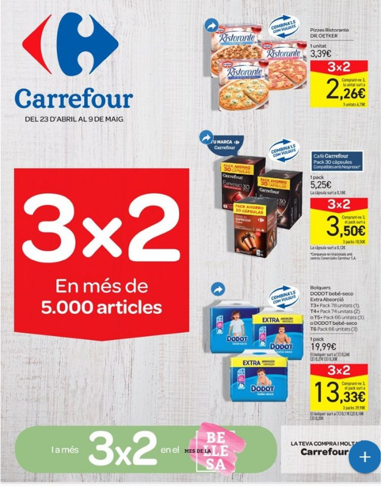 Carrefour Folleto - 23.04-09.05.2019