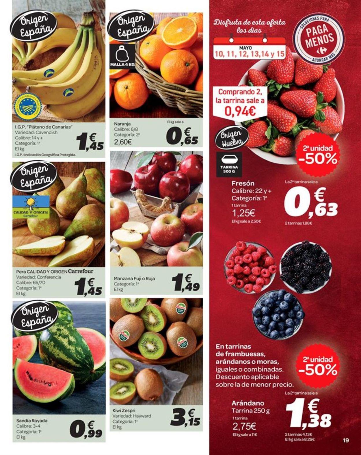 Carrefour Folleto - 10.05-23.05.2019 (Página 19)
