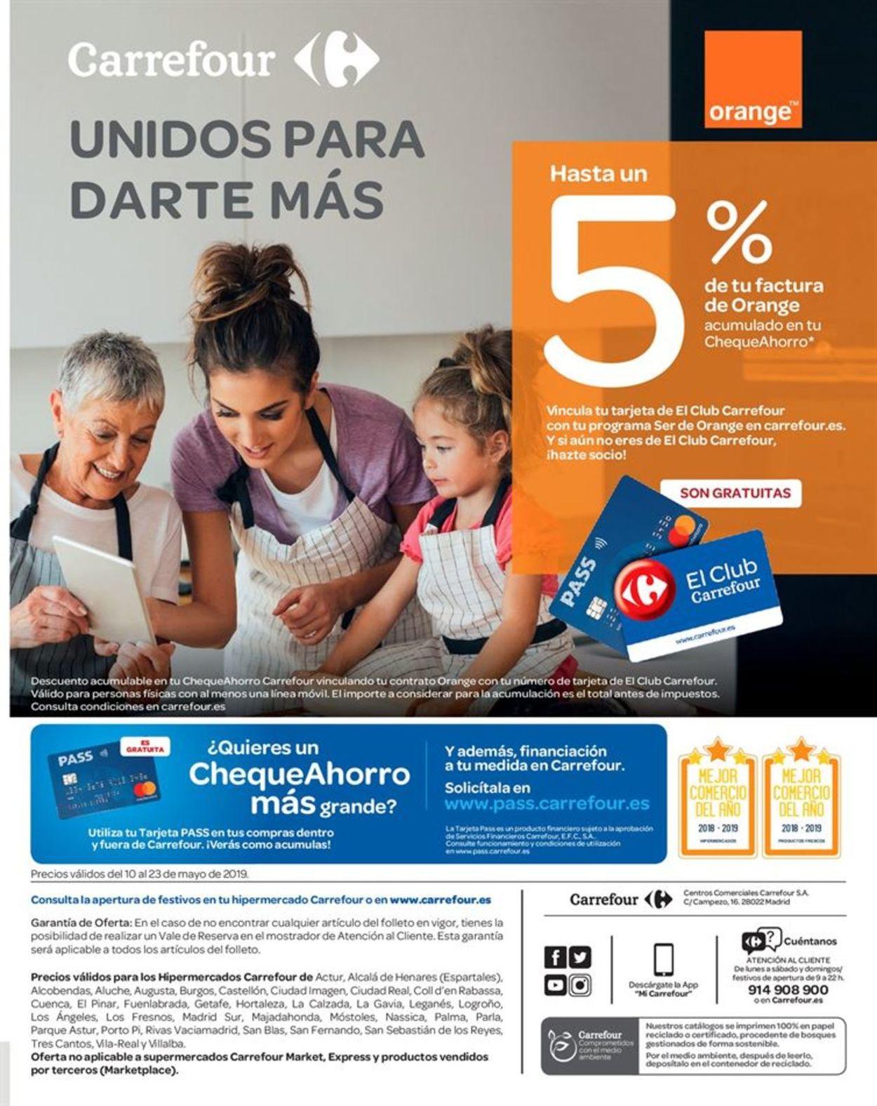 Carrefour Folleto - 10.05-23.05.2019 (Página 47)
