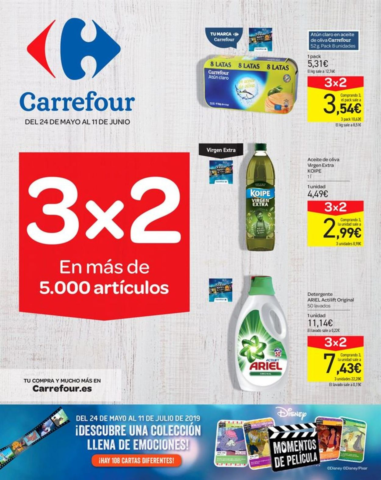 Carrefour Folleto - 24.05-11.06.2019