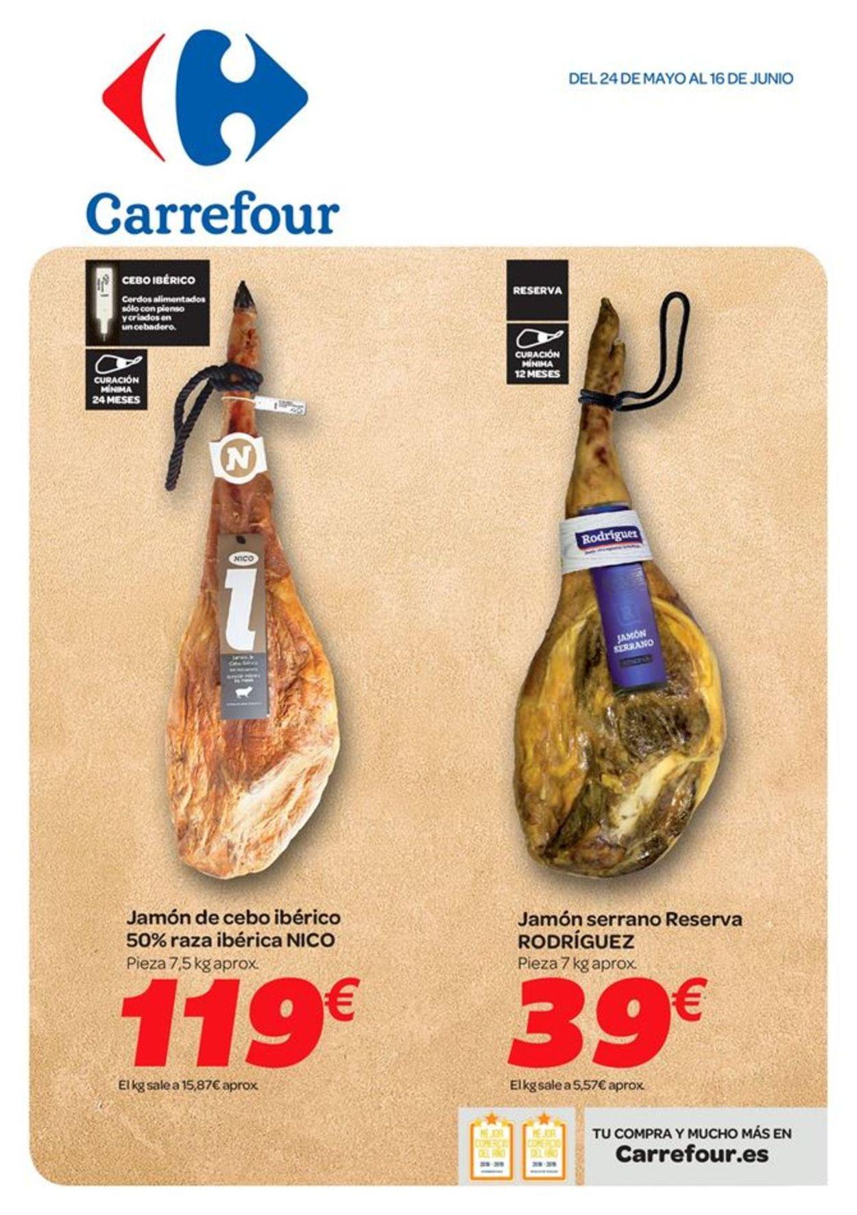 Carrefour Folleto - 24.05-16.06.2019