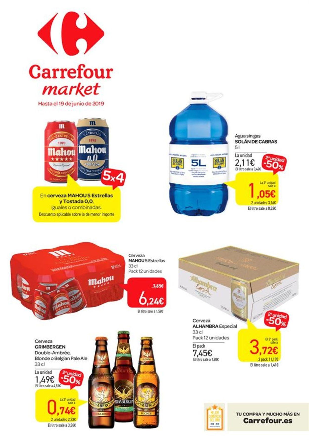 Carrefour Folleto - 29.05-19.06.2019