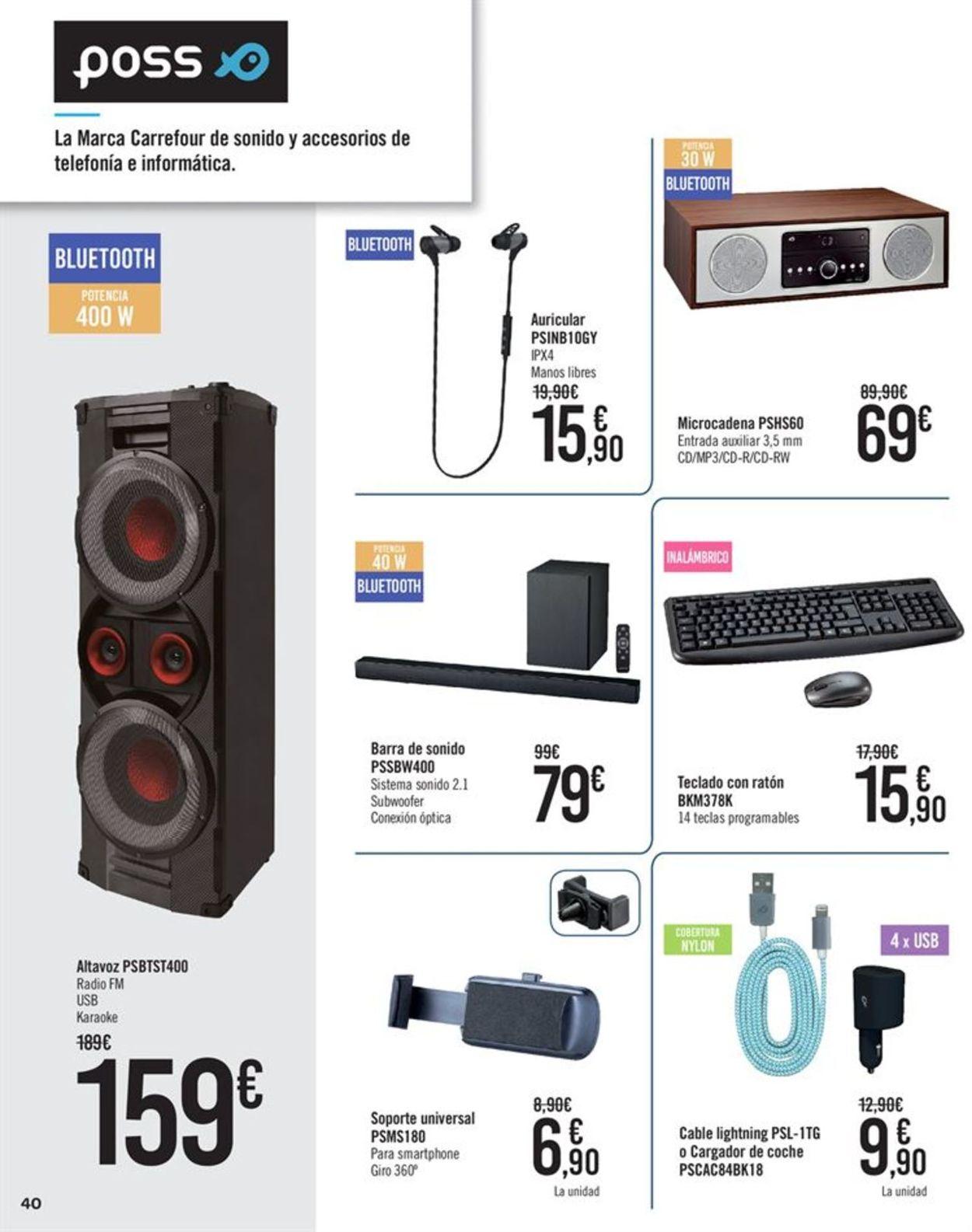 Carrefour Folleto - 04.06-11.06.2019 (Página 40)