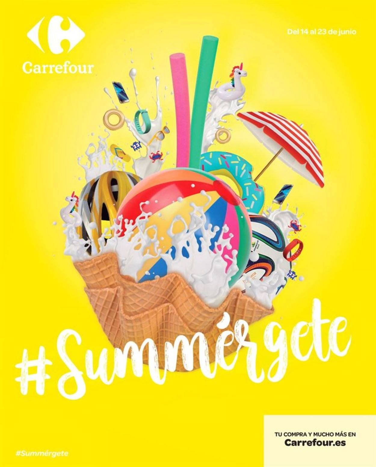 Carrefour Folleto - 14.06-23.06.2019