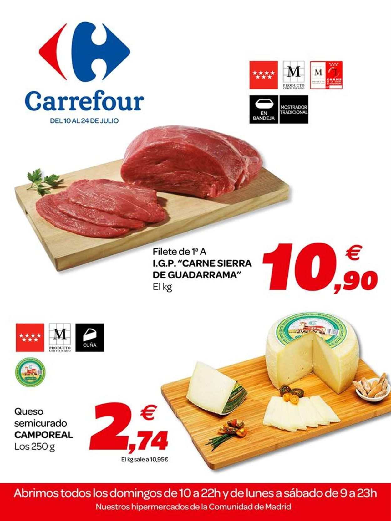 Carrefour Folleto - 10.07-24.07.2019