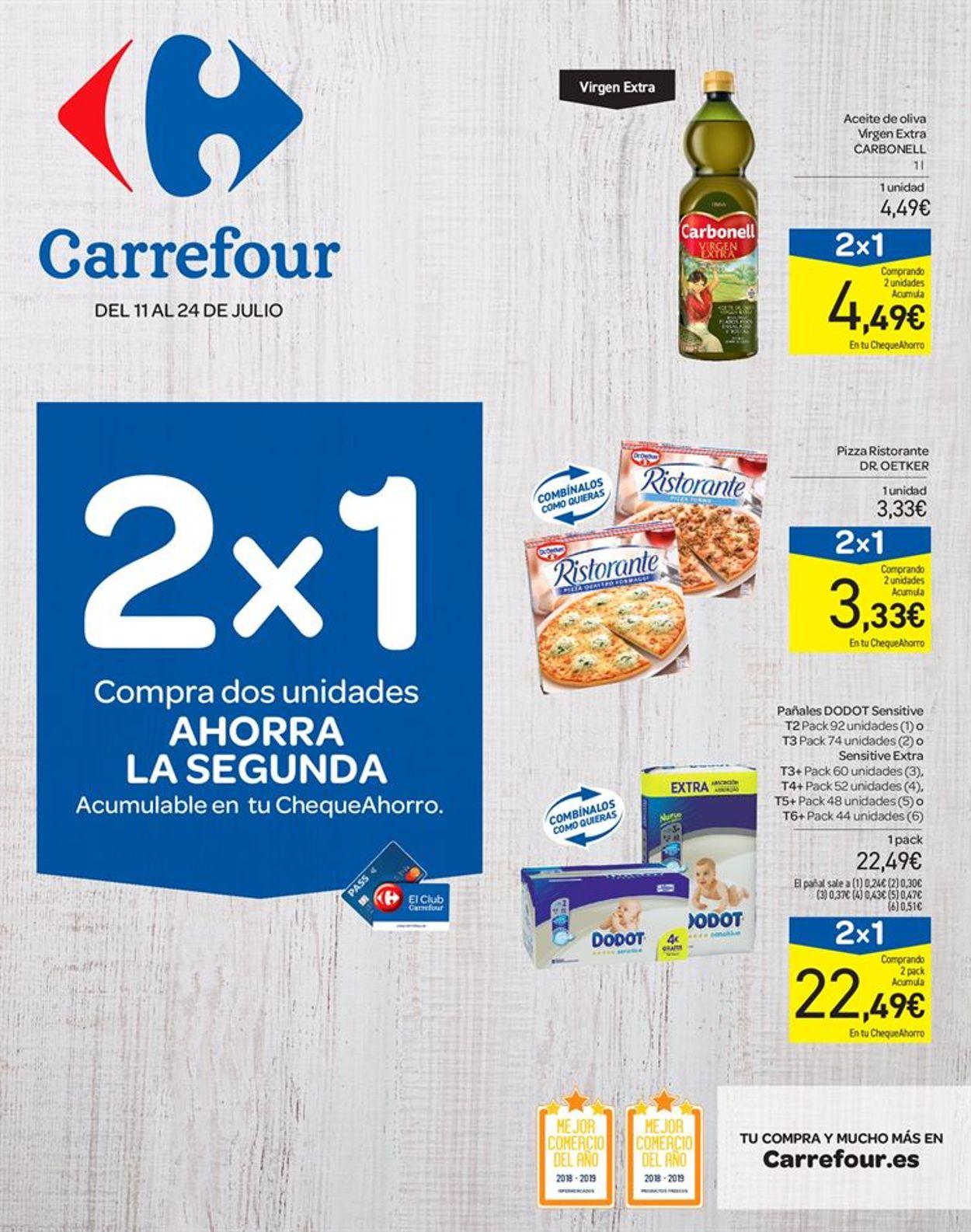 Carrefour Folleto - 11.07-24.07.2019