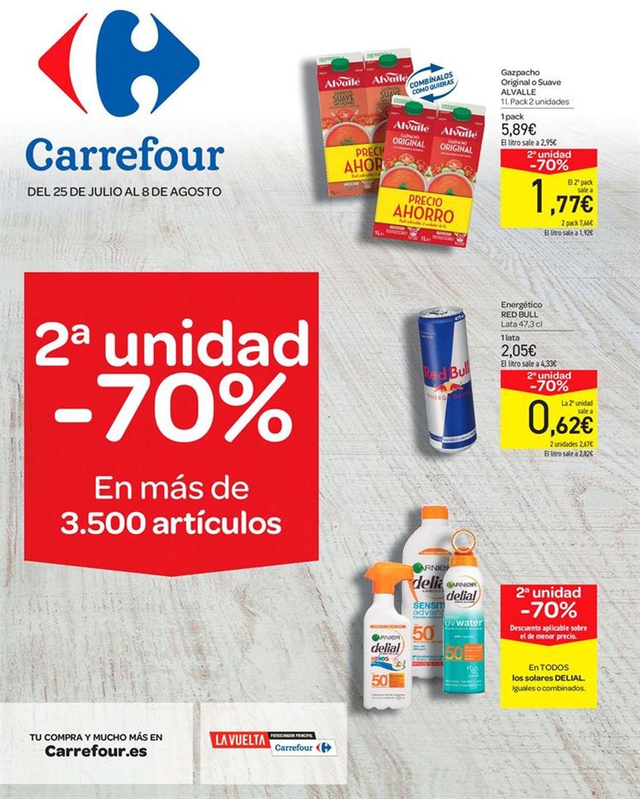 Carrefour Folleto - 25.07-08.08.2019