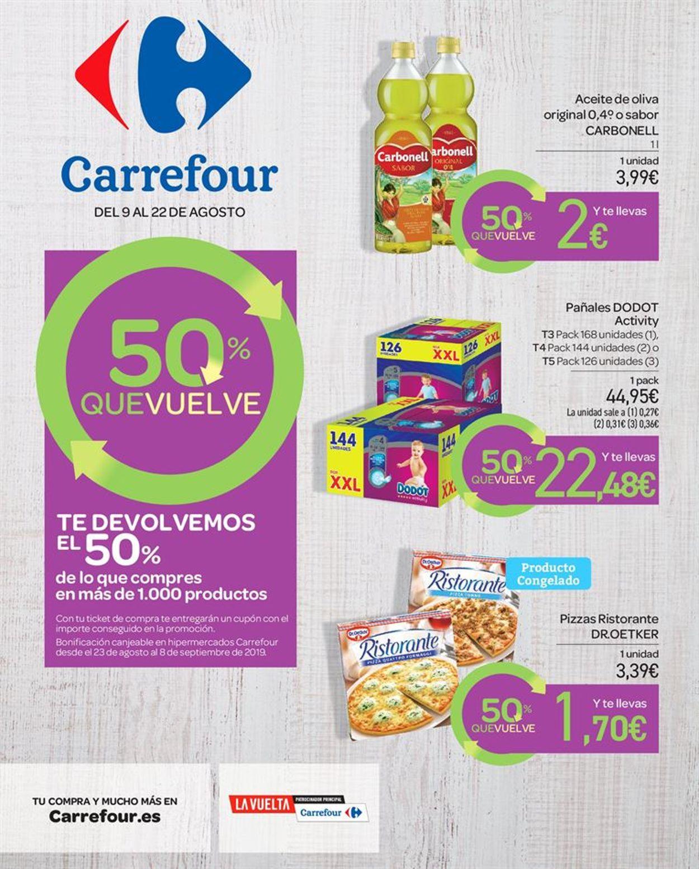 Carrefour Folleto - 09.08-22.08.2019