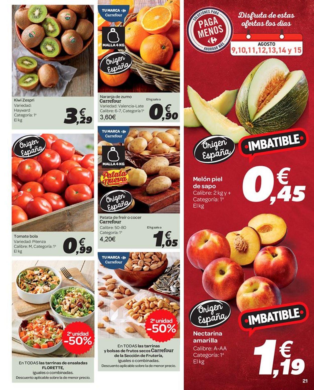 Carrefour Folleto - 09.08-22.08.2019 (Página 21)