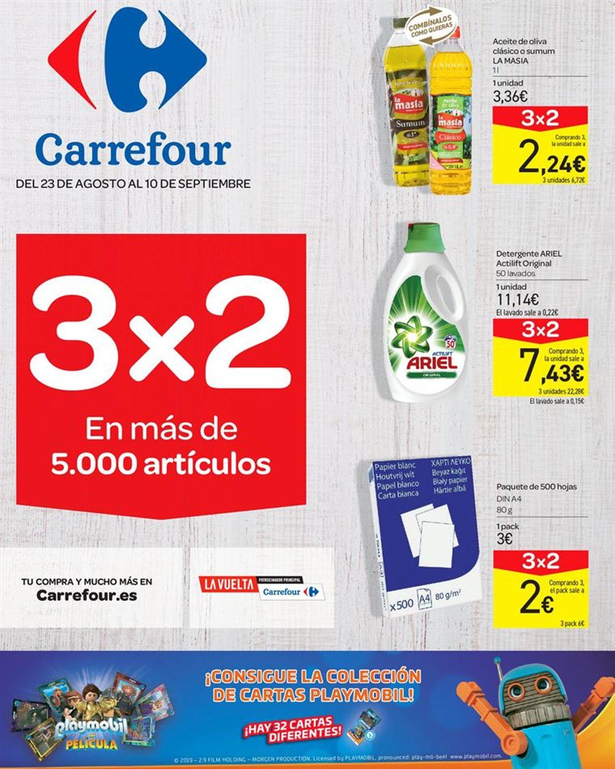 Carrefour Folleto - 23.08-10.09.2019