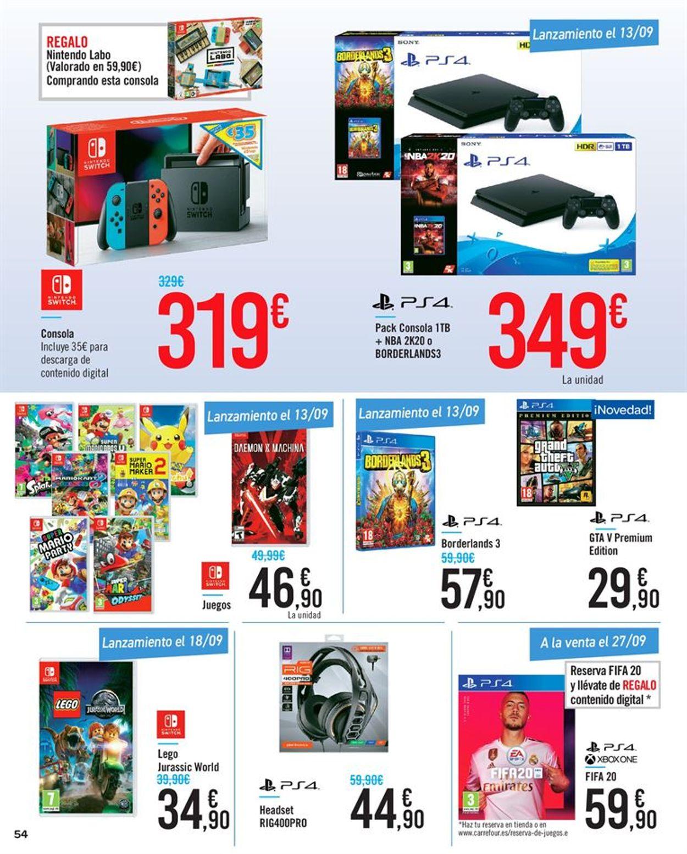 Carrefour Folleto - 11.09-23.09.2019 (Página 54)