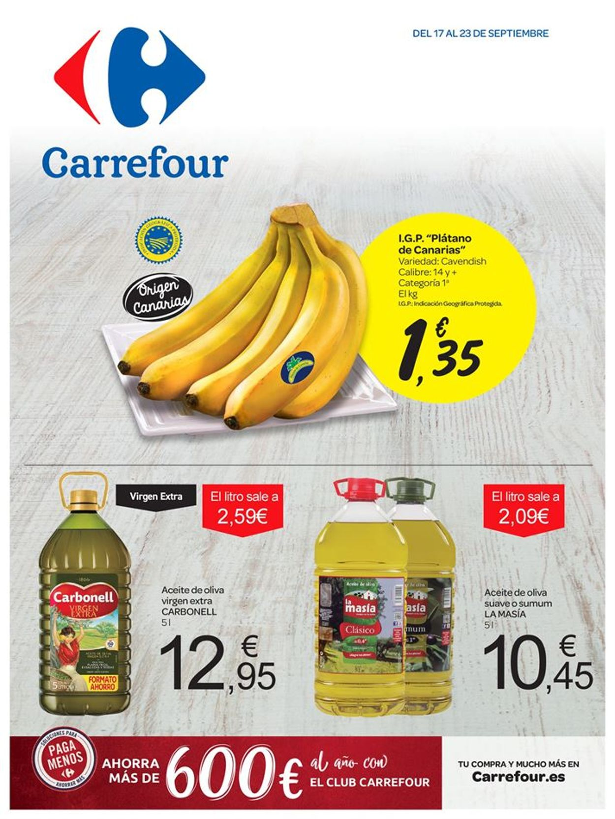 Carrefour Folleto - 17.09-23.09.2019