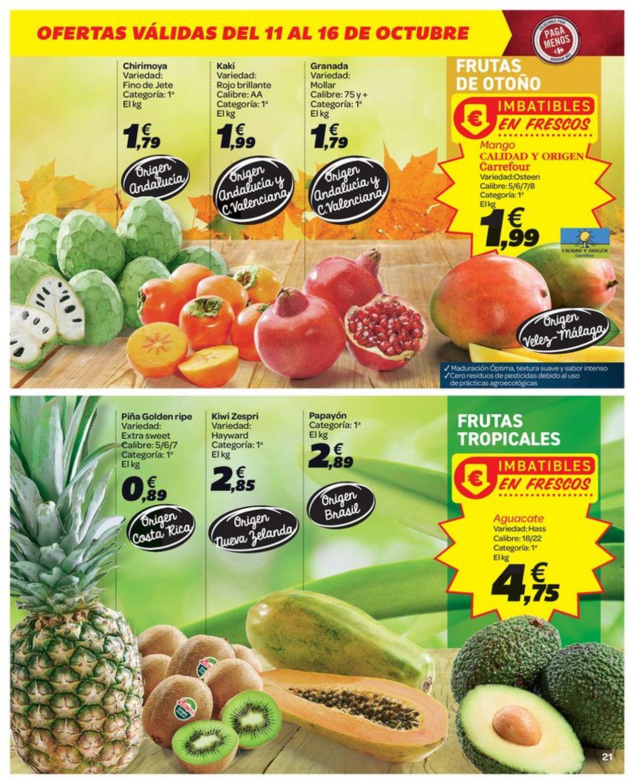 Carrefour Folleto - 11.10-23.10.2019 (Página 21)