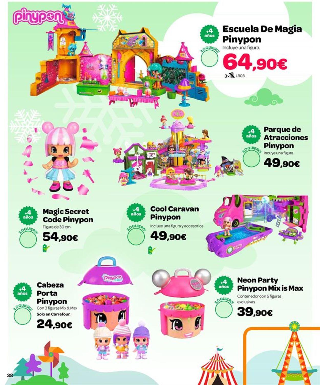 Carrefour Folleto - 25.10-24.12.2019 (Página 38)