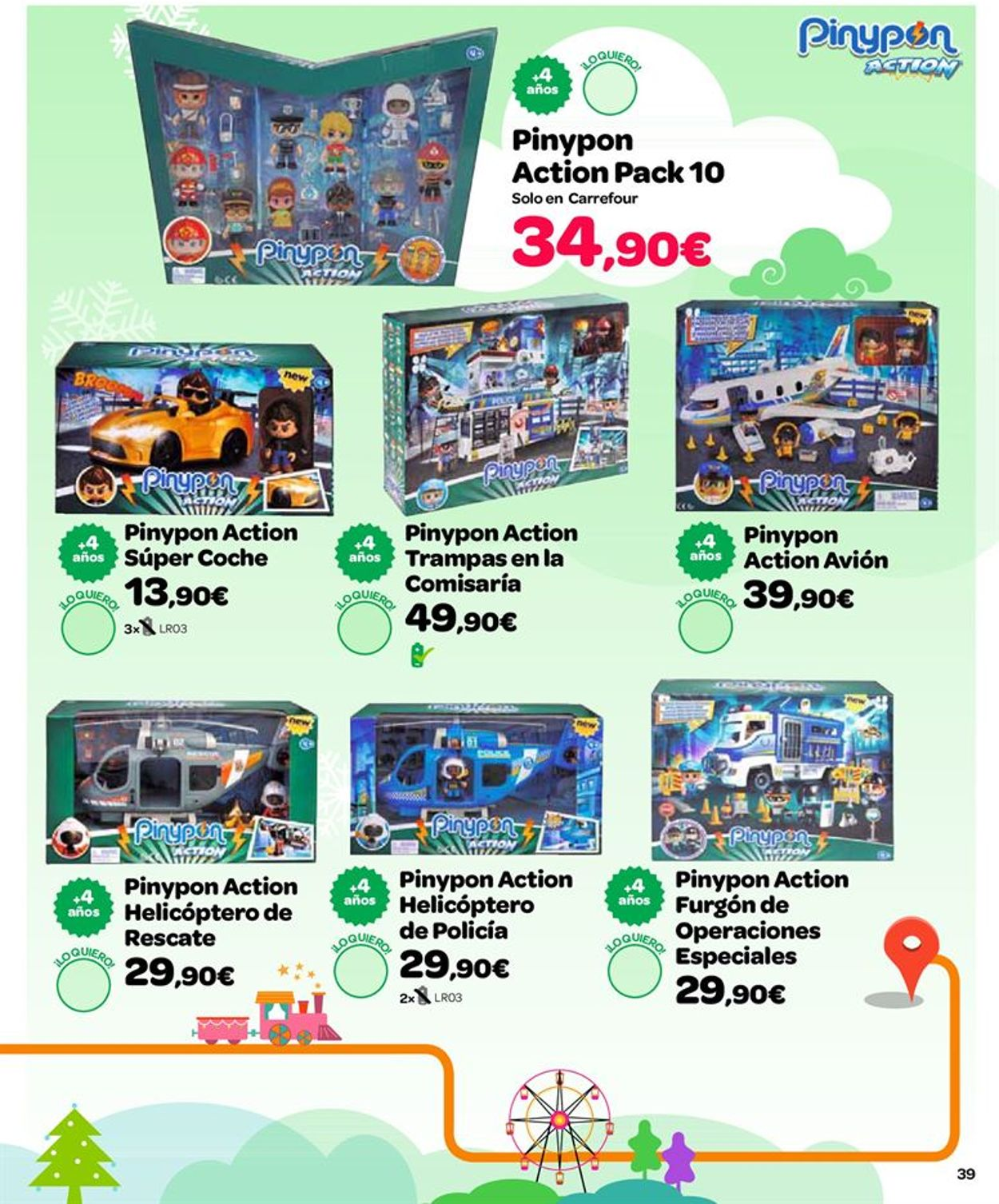 Carrefour Folleto - 25.10-24.12.2019 (Página 39)