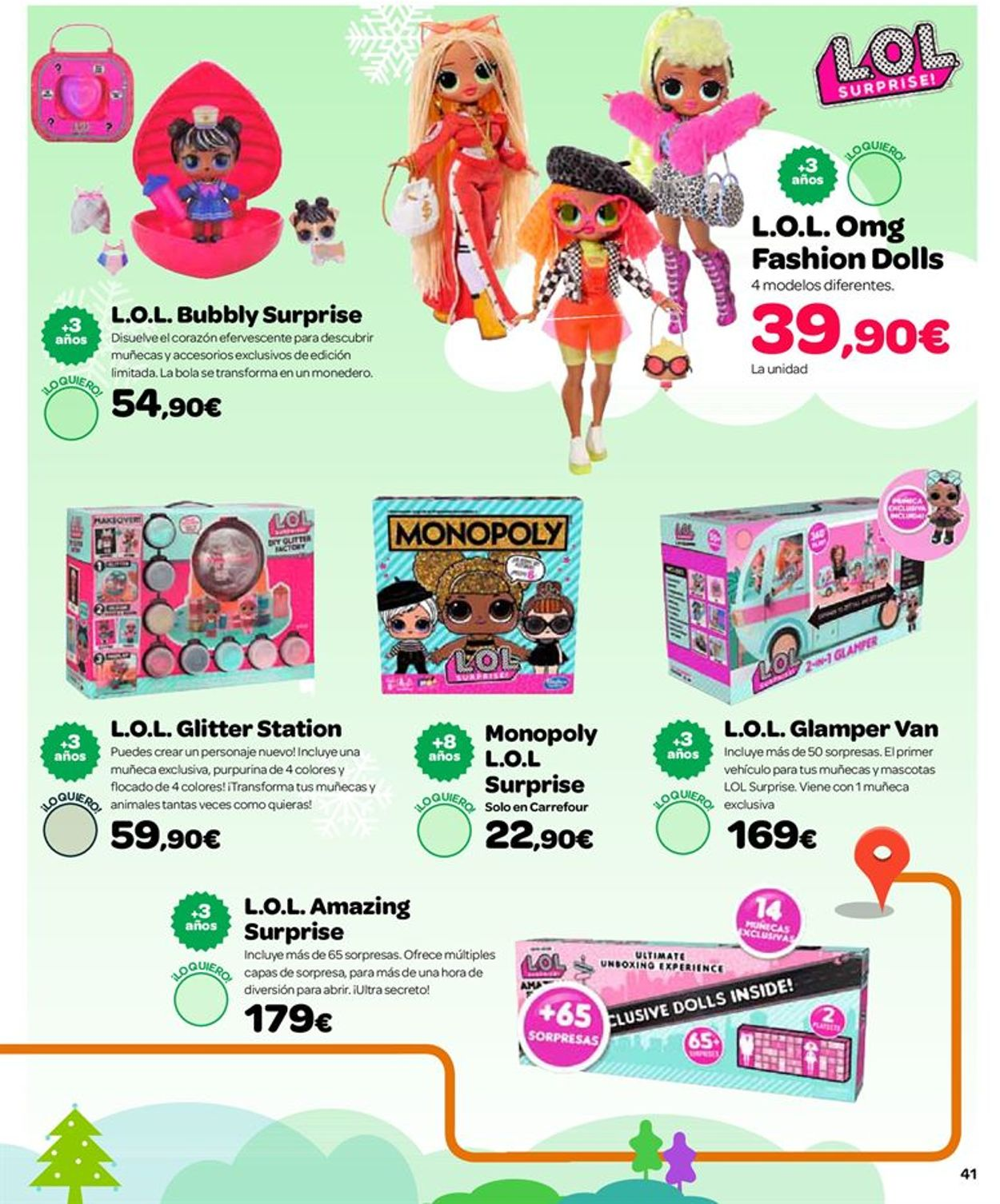 Carrefour Folleto - 25.10-24.12.2019 (Página 41)