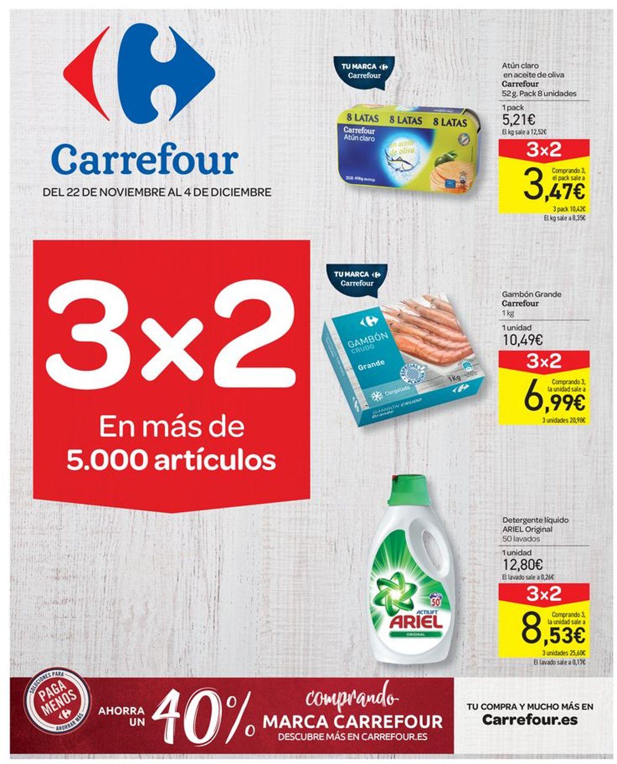 Carrefour Folleto - 22.11-04.12.2019