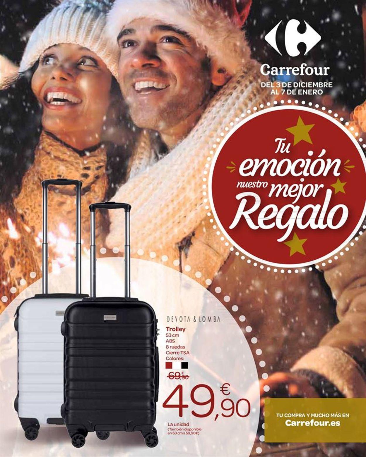 Carrefour Folleto - 03.12-07.01.2020