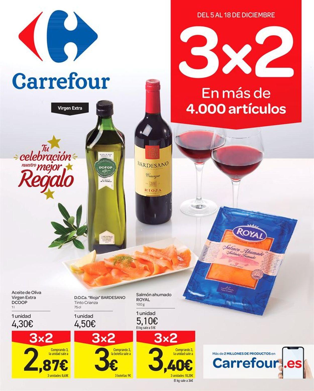 Carrefour Folleto - 05.12-18.12.2019