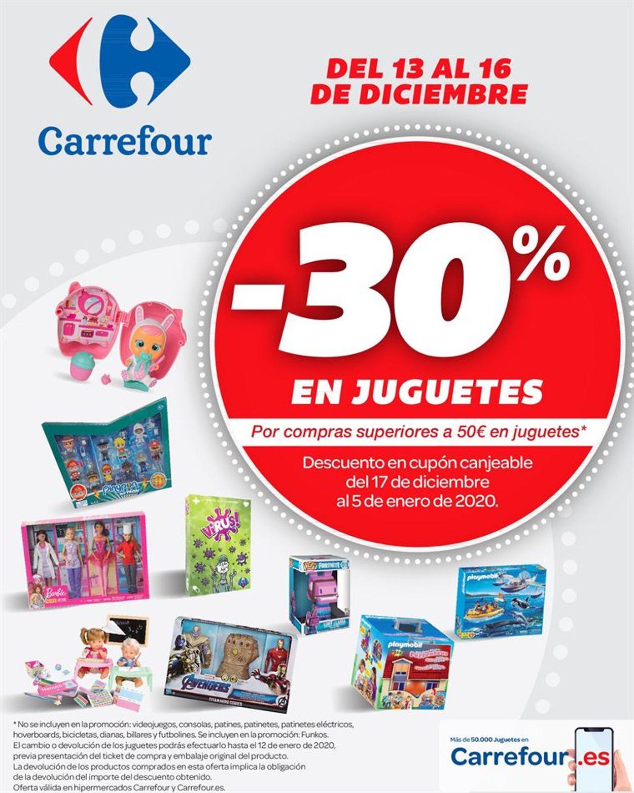 Carrefour Folleto - 13.12-16.12.2019