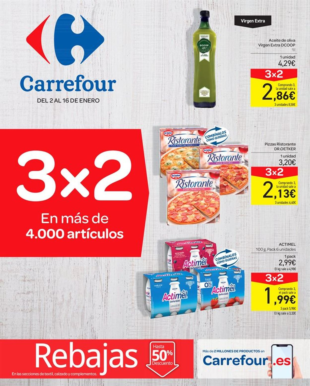 Carrefour Folleto - 02.01-16.01.2020