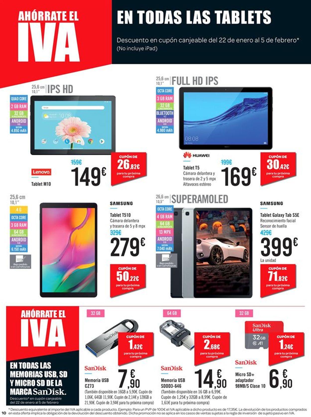 Carrefour Folleto - 09.01-21.01.2020 (Página 10)