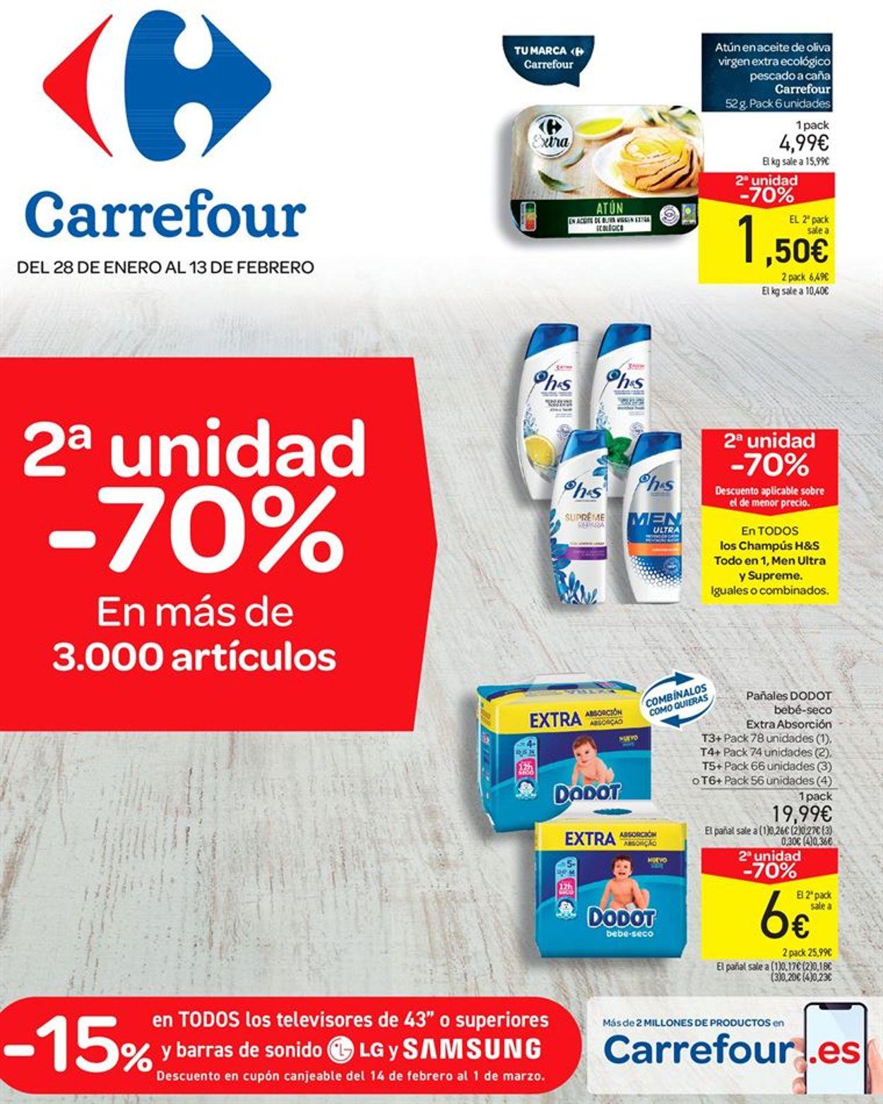 Carrefour Folleto - 28.01-13.02.2020
