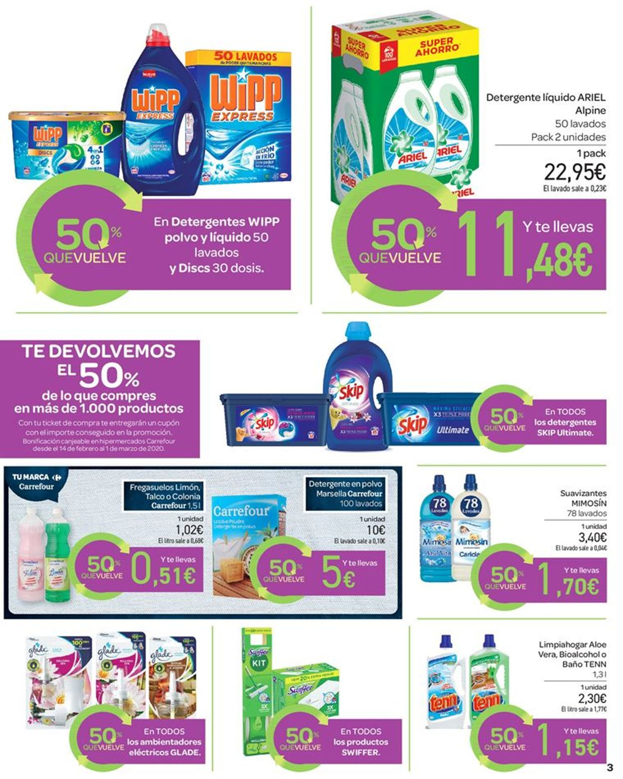 Carrefour Folleto - 28.01-13.02.2020 (Página 3)