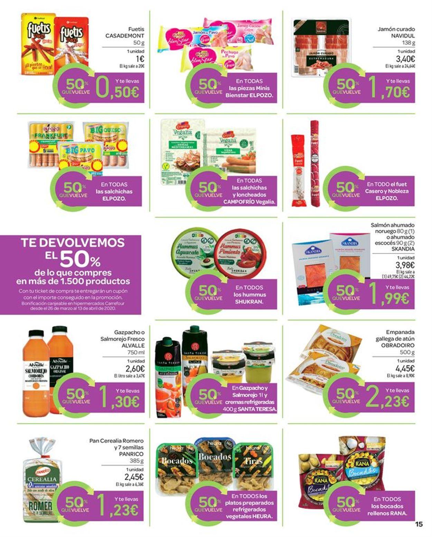 Carrefour Folleto - 13.03-25.03.2020 (Página 15)