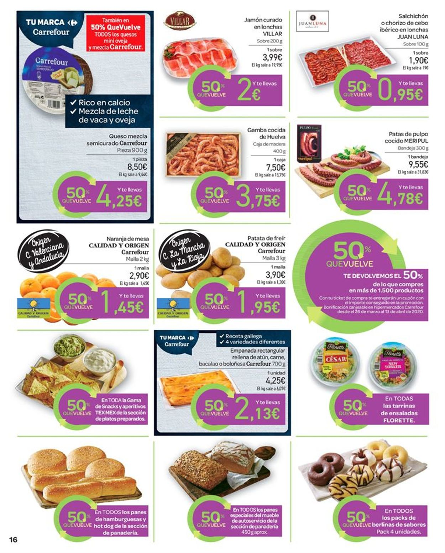 Carrefour Folleto - 13.03-25.03.2020 (Página 16)