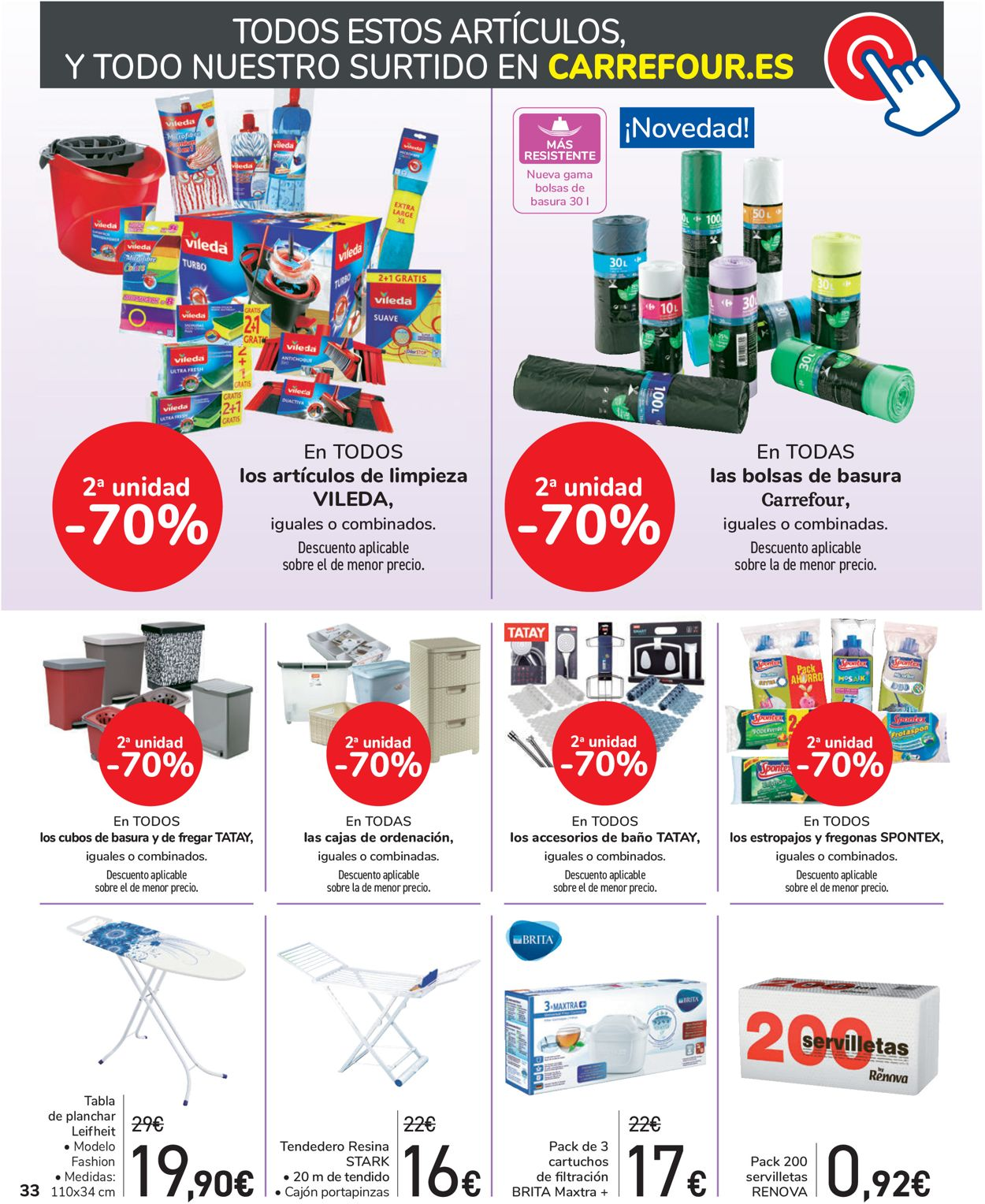 Carrefour Folleto - 26.03-13.04.2020 (Página 32)