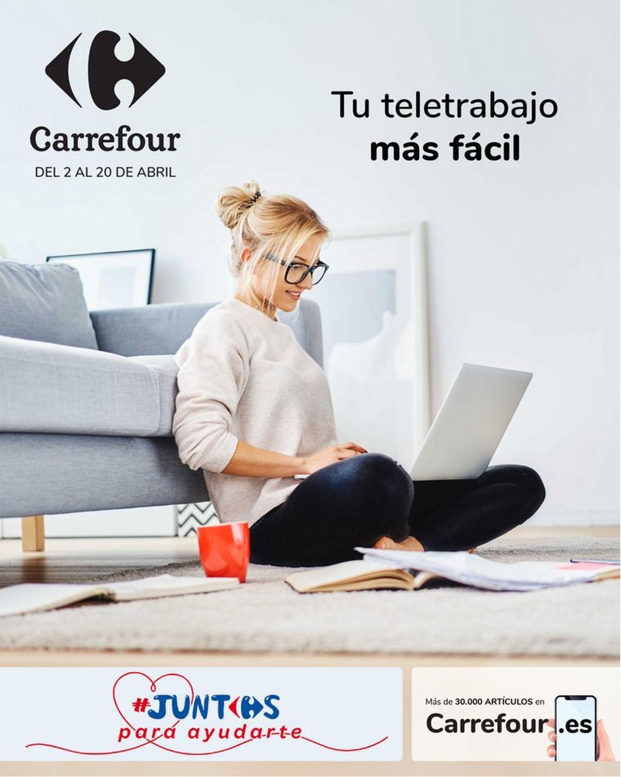Carrefour Folleto - 02.04-20.04.2020