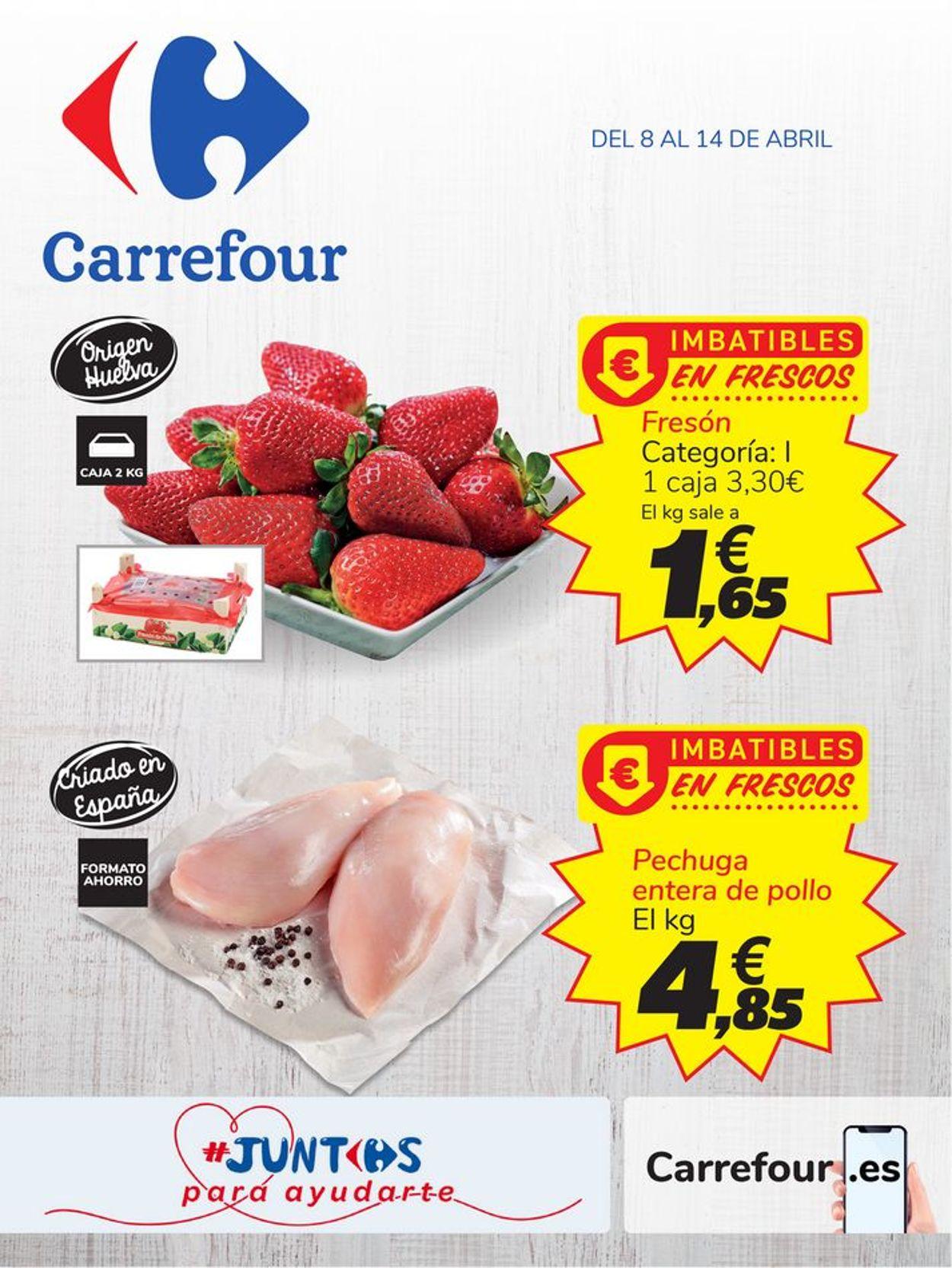 Carrefour Folleto - 08.04-14.04.2020