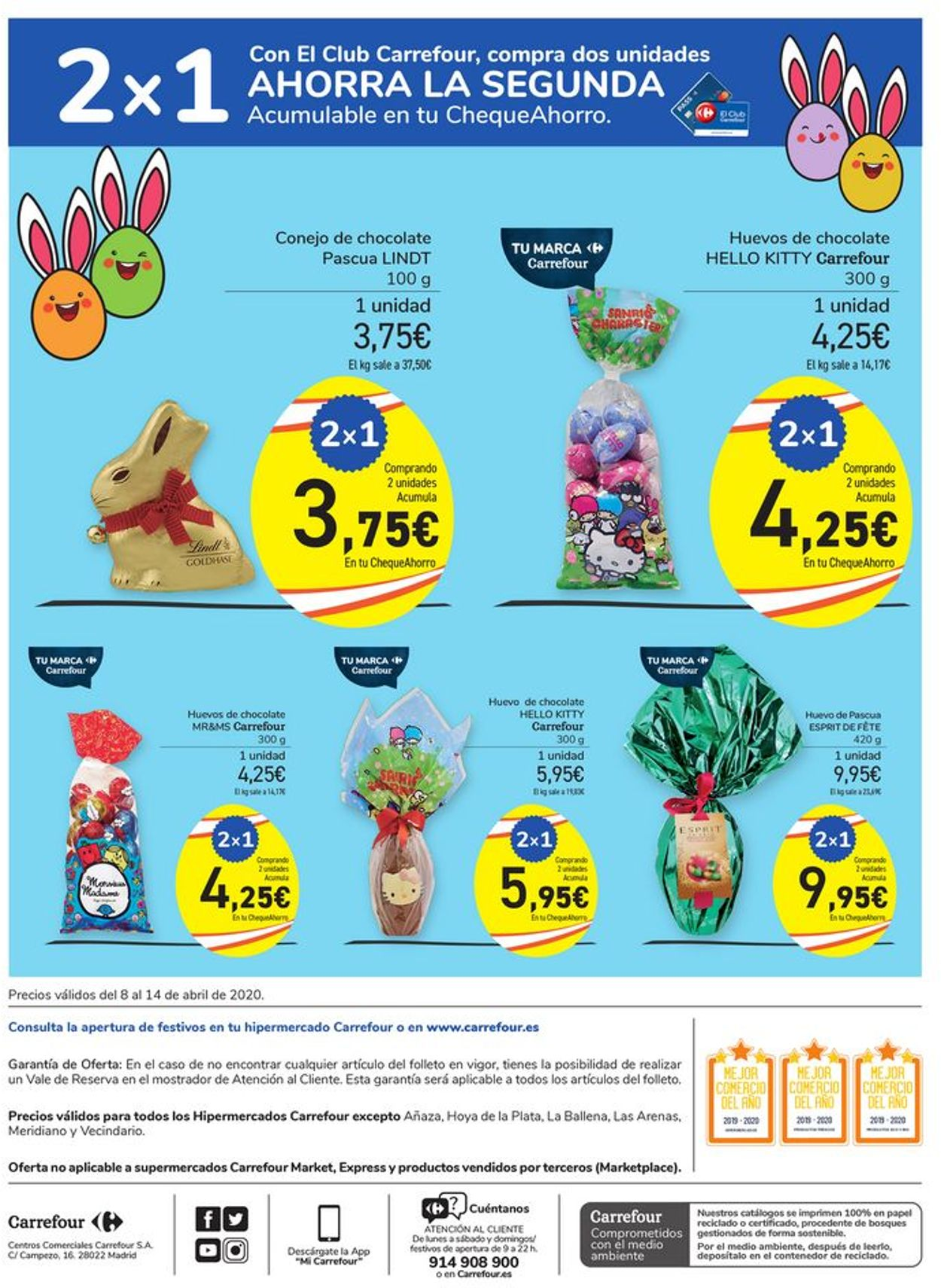 Carrefour Folleto - 08.04-14.04.2020 (Página 4)