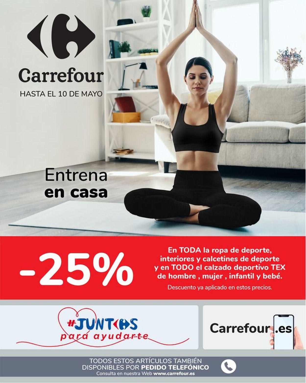 Carrefour Folleto - 21.04-10.05.2020