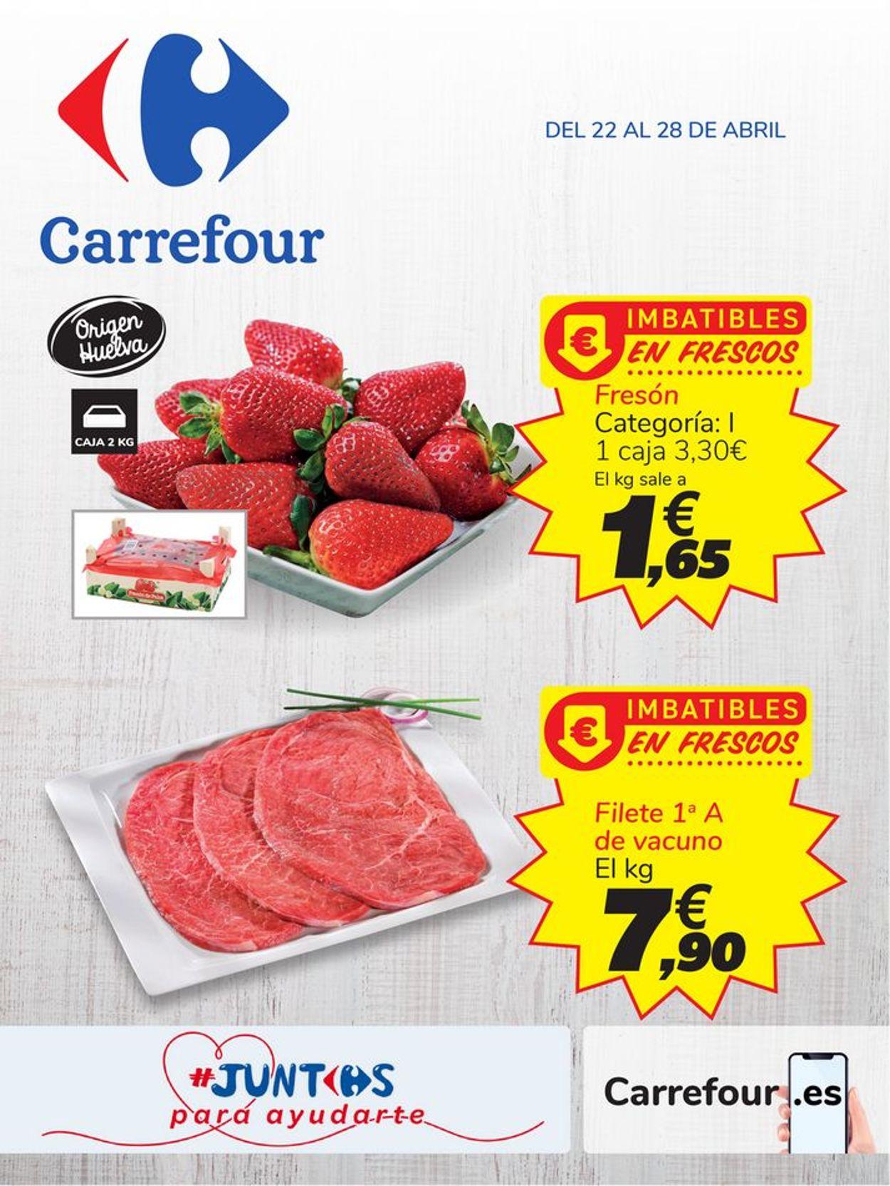 Carrefour Folleto - 22.04-28.04.2020