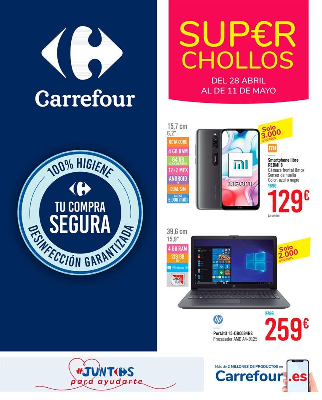 Carrefour Folleto - 28.04-11.05.2020
